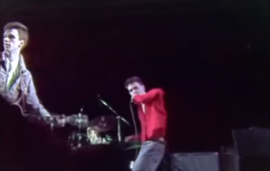 Captura vídeo TVE concierto The Smiths, Madrid, 1985