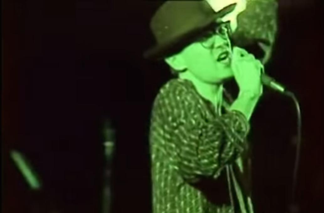 Captura vídeo TVE concierto The Smiths, Madrid, 1985