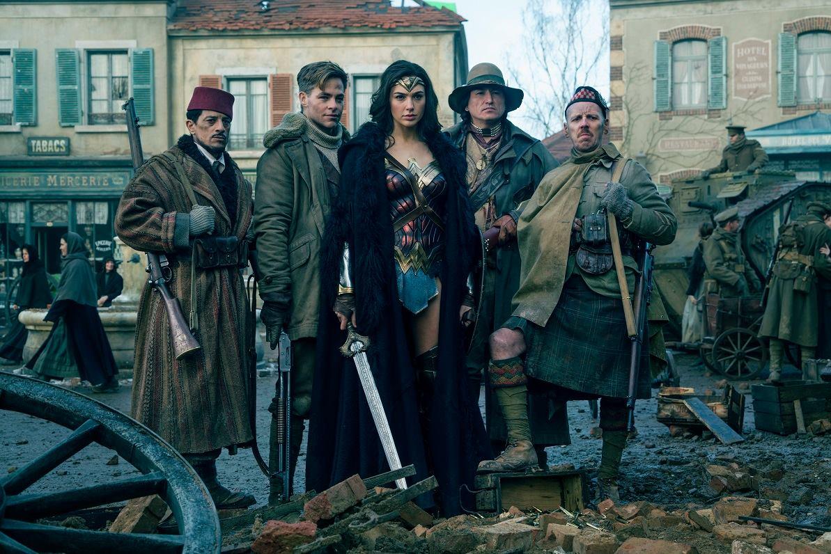 Facebook oficial Wonder Woman
