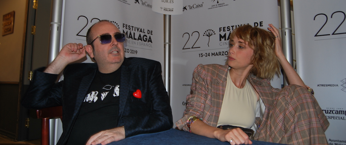 Ingrid García-Jonsson y Carlos Areces: