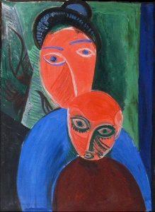 Mère et enfant (1907)