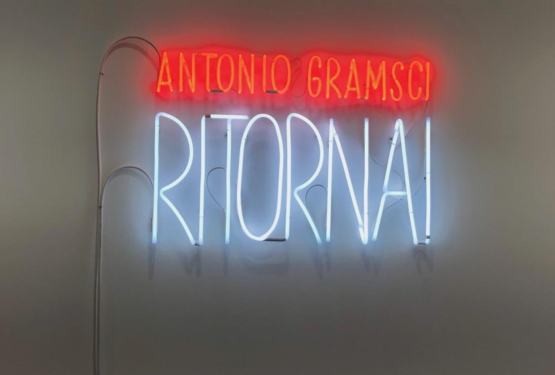 Antonio Gramsci Ritorna!, de Alfredo Jaar