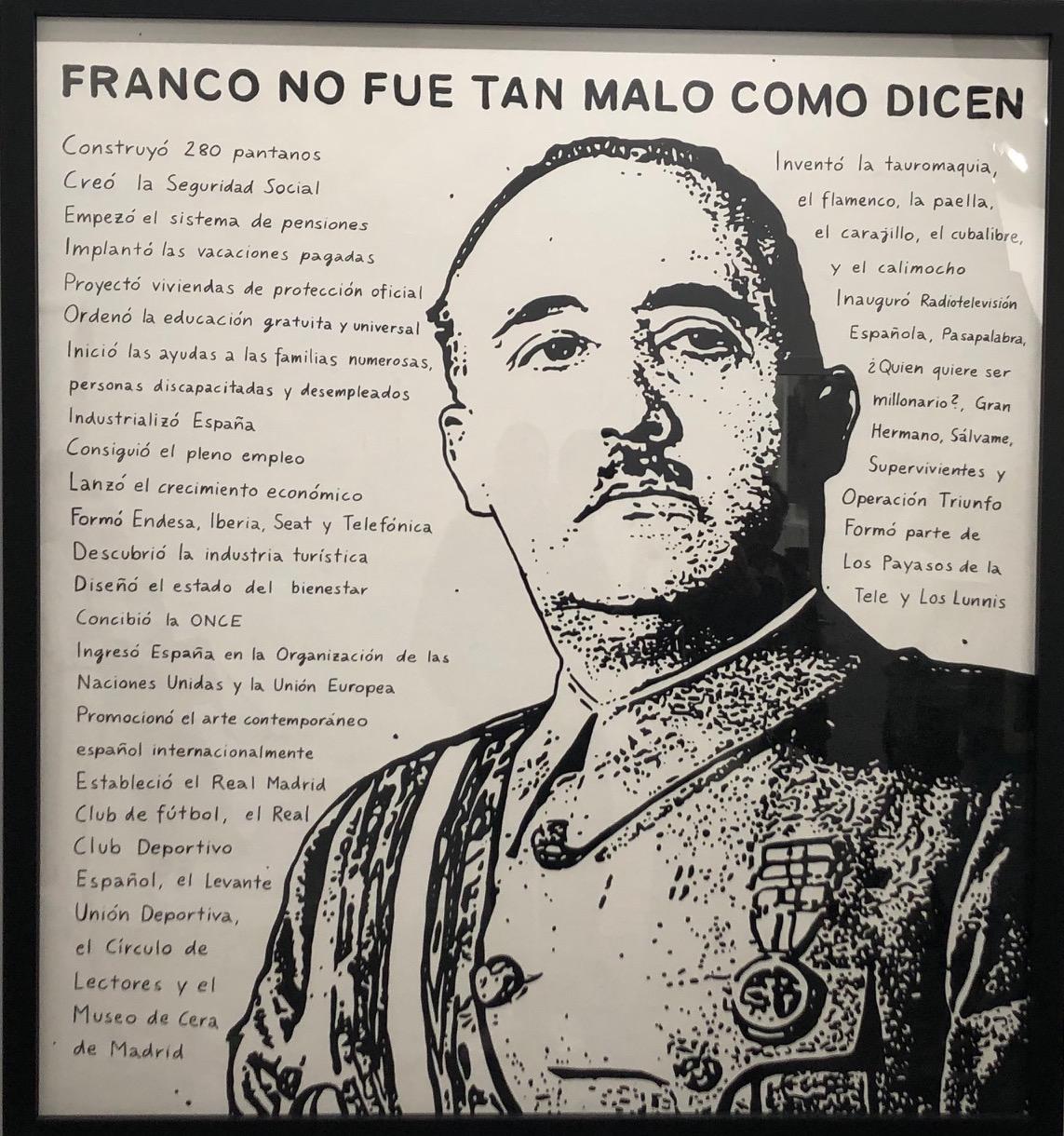 Franco no fue tan malo como dicen. Riiko Sakkinen