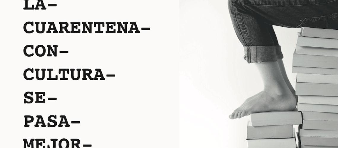 Agenda cultural cuarentena